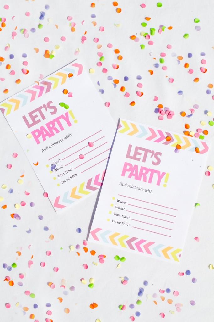 Hen-Party-Bachelorette-Party-Neon-Invitations