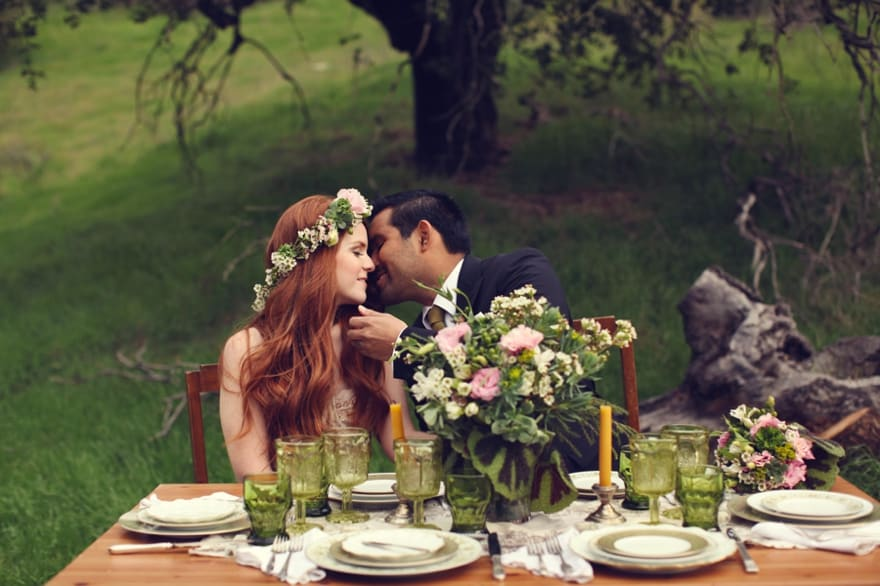 Irish St Patricks Day Styled Wedding Shoot 18