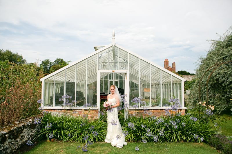 A Vintage English Country Garden Wedding