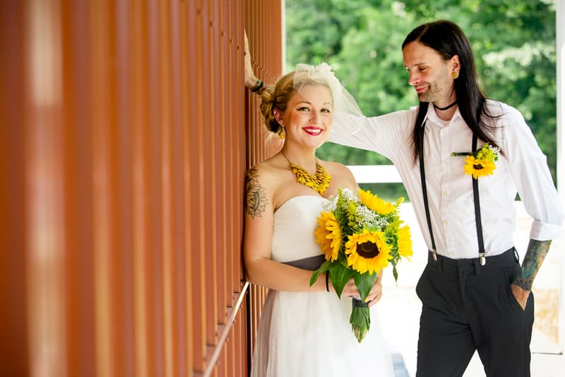 A DIY Rustic Sunflower Wedding (10)