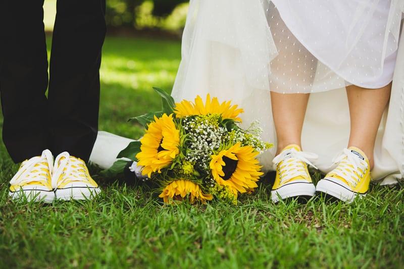 A DIY Rustic Sunflower Wedding (11)