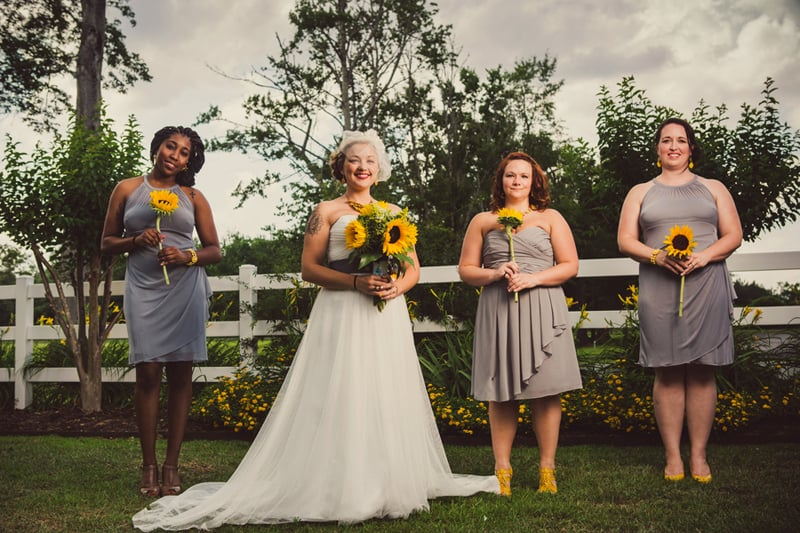 A DIY Rustic Sunflower Wedding (12)