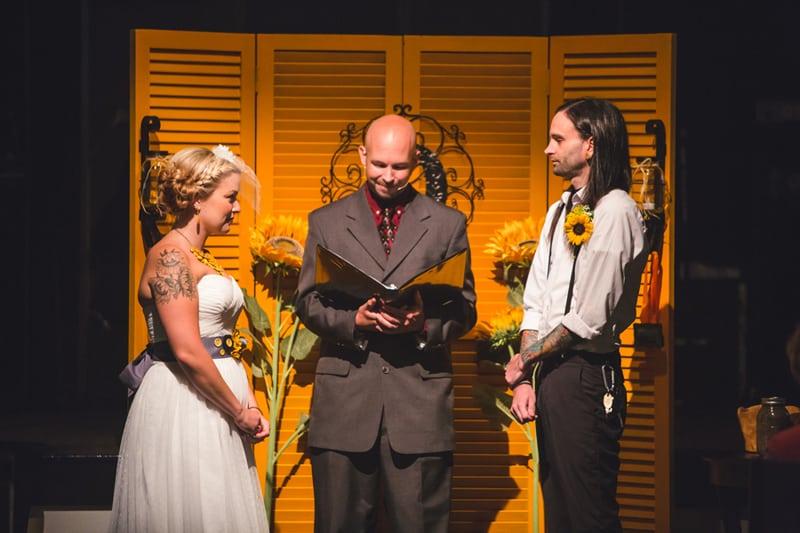 A DIY Rustic Sunflower Wedding (16)