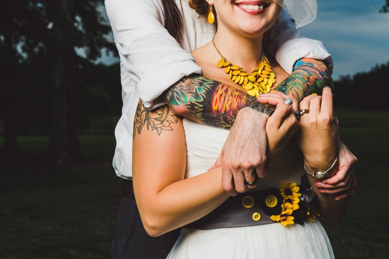 A DIY Rustic Sunflower Wedding (26)
