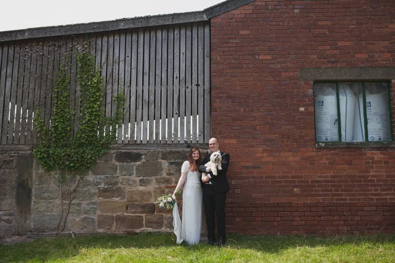 A Handmade & Laid-back Backyard Wedding in a Tipi (22)