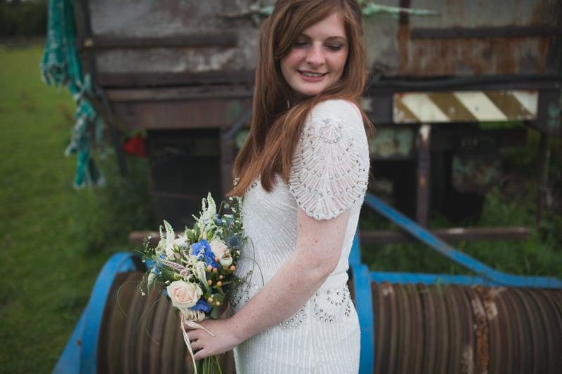 A Handmade & Laid-back Backyard Wedding in a Tipi (37)