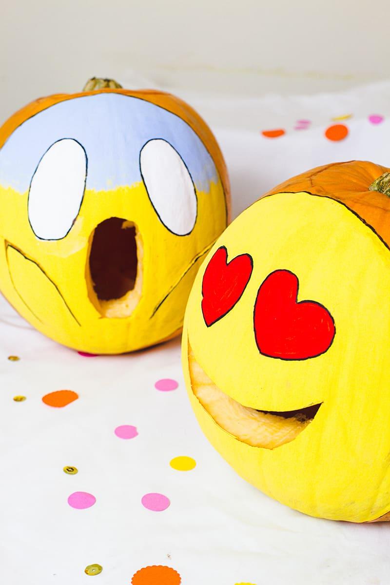 Cute Couple Pumpkin Painting Ideas
