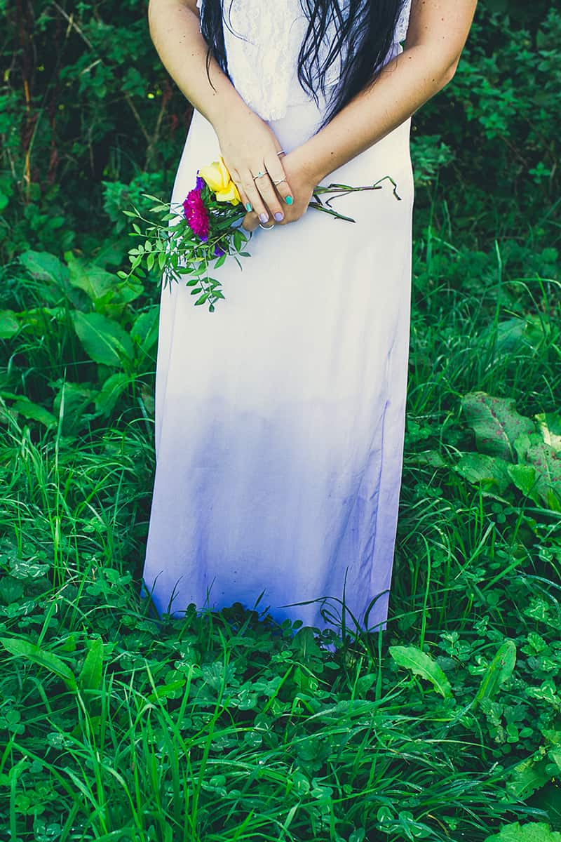 DIY Ombre Wedding Dress Tutorial-1