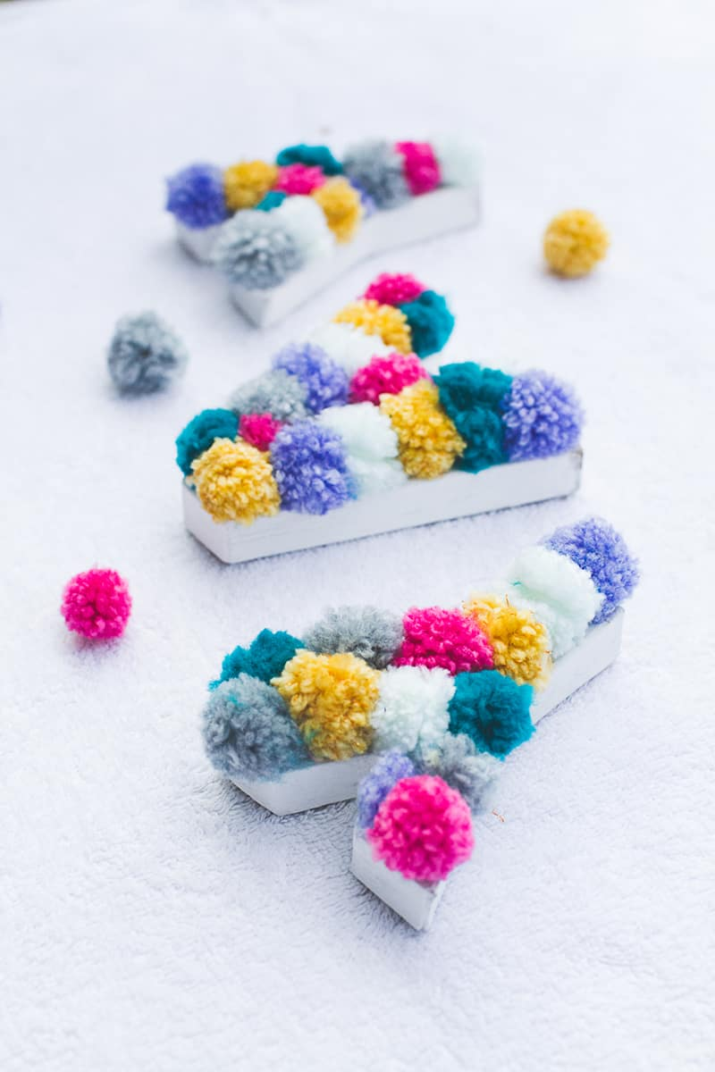 Diy Pom Pom Letters Bespoke Bride Wedding Blog