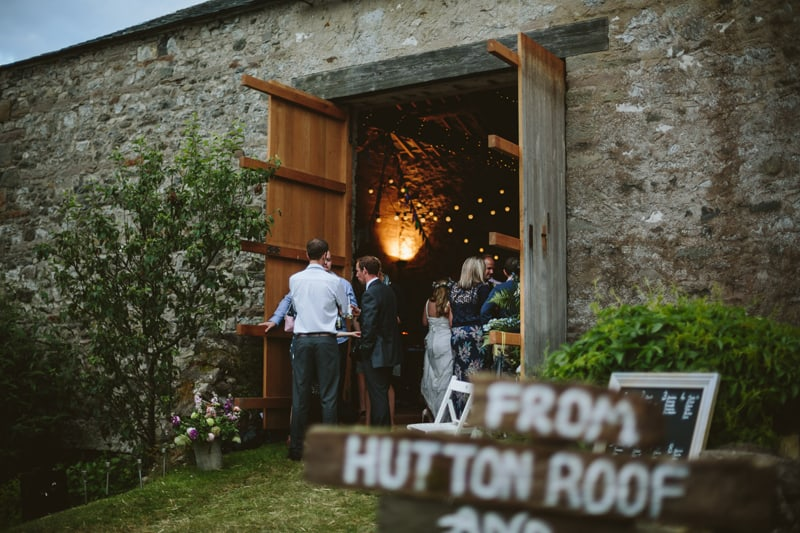 Charming English Barn Wedding
