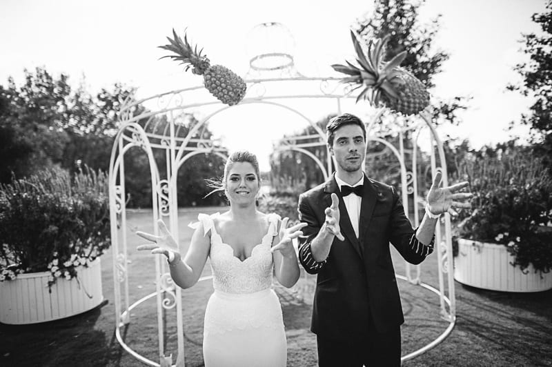 Pineapple Styled Summer Wedding Inspiration Bridal Fashion Unique Bride-19