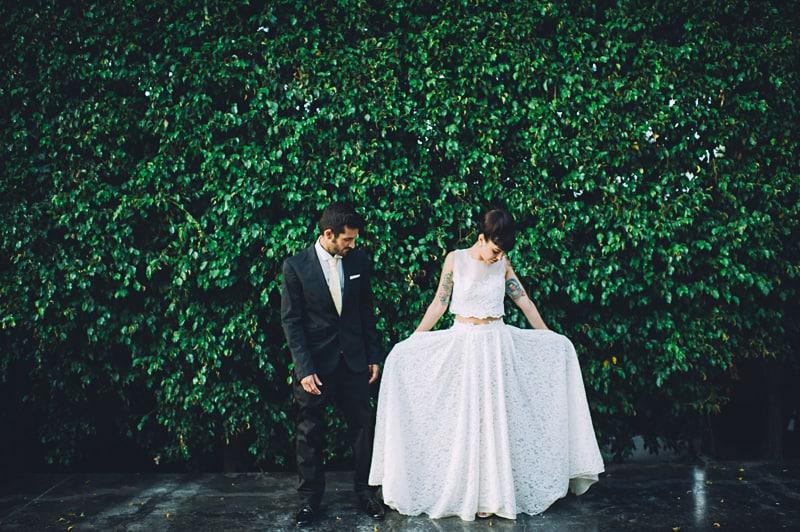 Pineapple Styled Summer Wedding Inspiration Bridal Fashion Unique Bride-34
