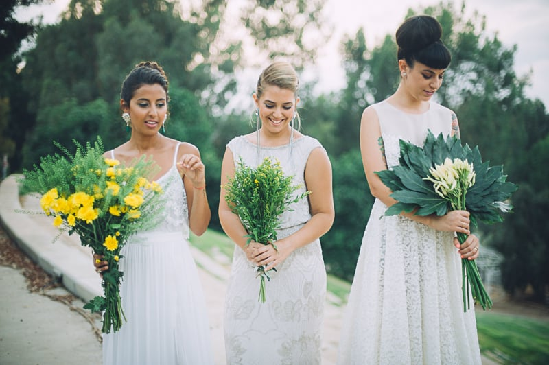 Pineapple Styled Summer Wedding Inspiration Bridal Fashion Unique Bride-40