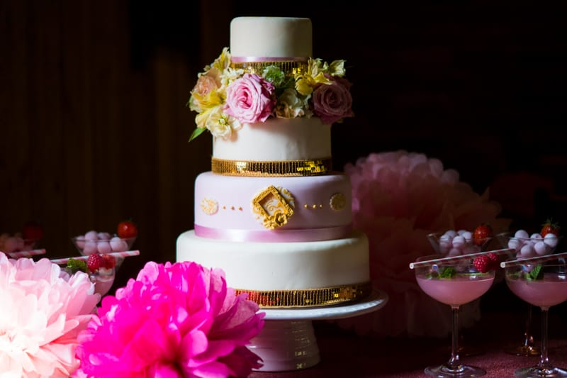 Pink, Glitter & Gold Styled shoot 10