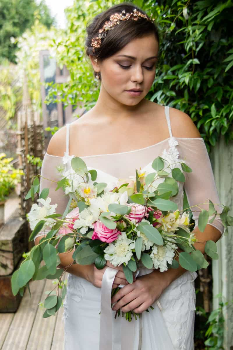 Pink, Glitter & Gold Styled shoot 81