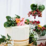 Charming Gold, Pink & Maroon Wedding Ideas