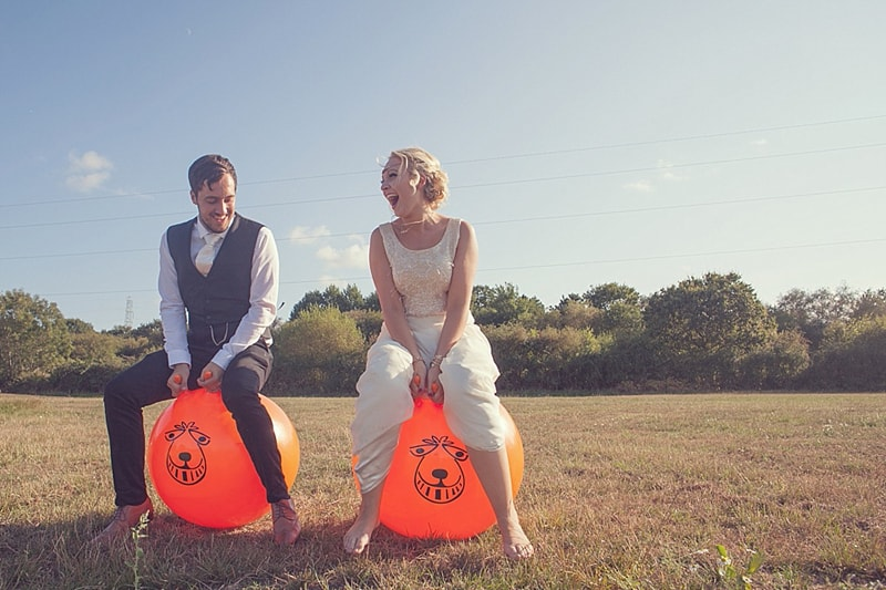 A Recycled, Upcycled, DIY Festival Wedding