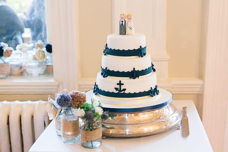 A Nautical themed DIY Wedding (34)