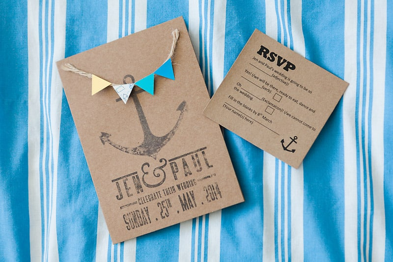 A Nautical themed DIY Wedding (5)
