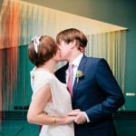 For. Like. Ever! A Colourful Geometric Wedding in LA: Marie & Garth
