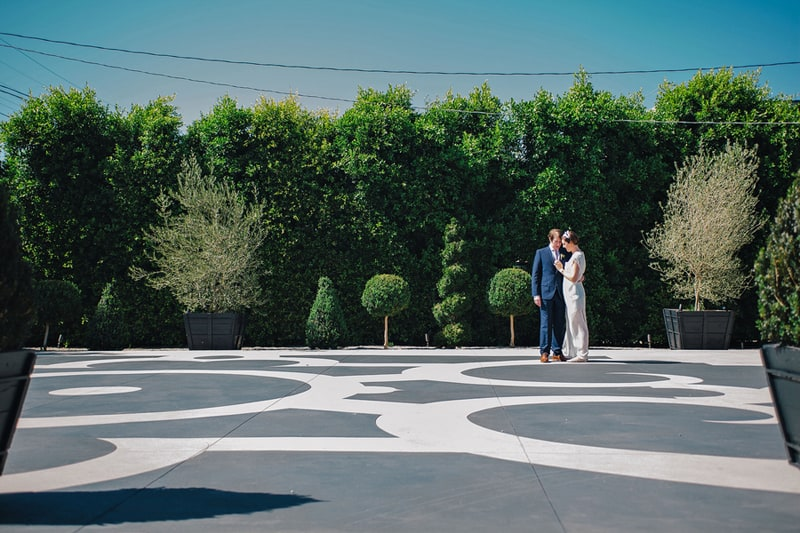 Colourful Geometric Wedding in LA (36)