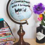 DIY Quote Globe – What A Wonderful World