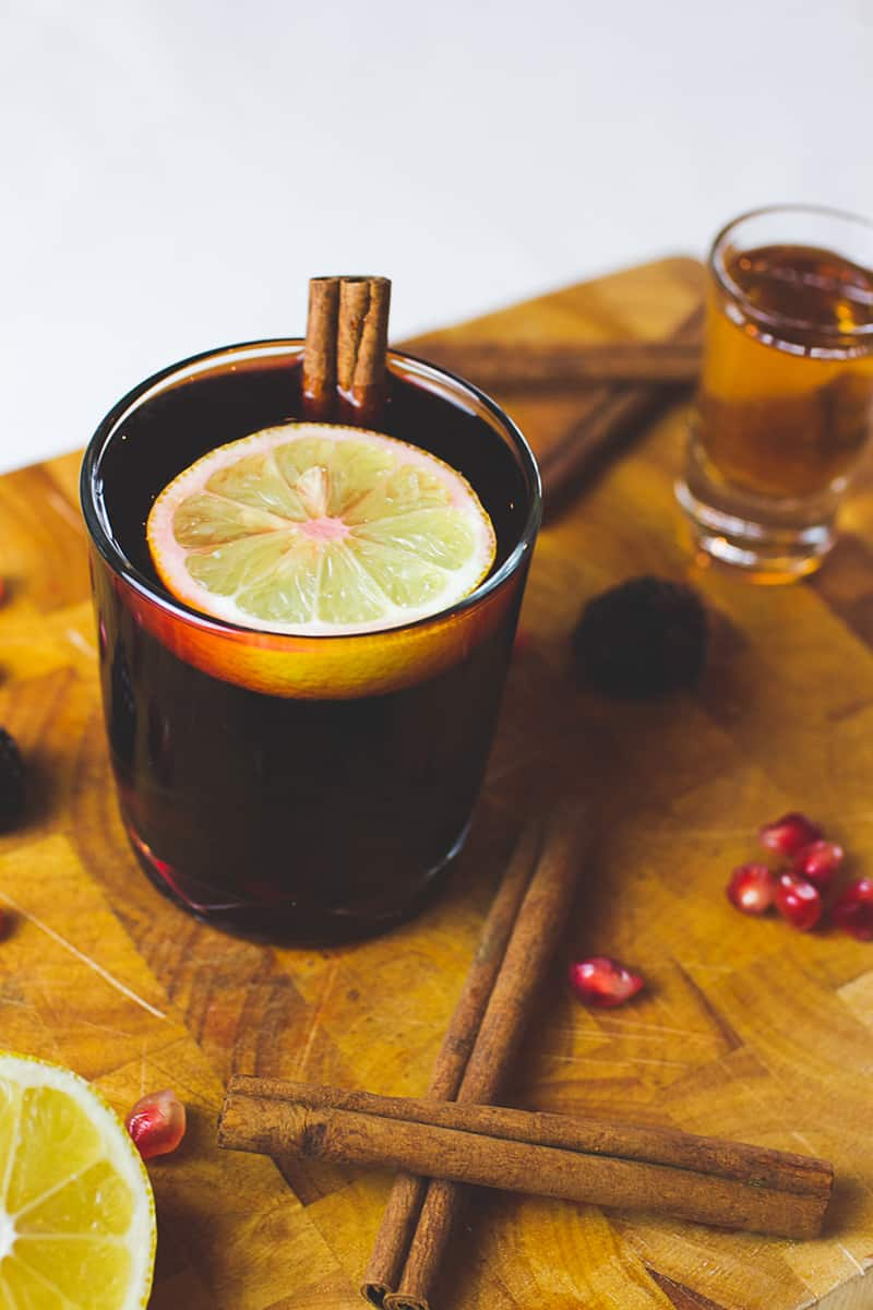 Red Wine Cocktail Recipe Winter Warmer