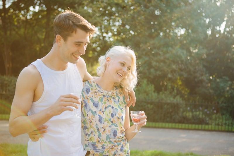Stylish, Intimate Family Picnic Wedding (20)