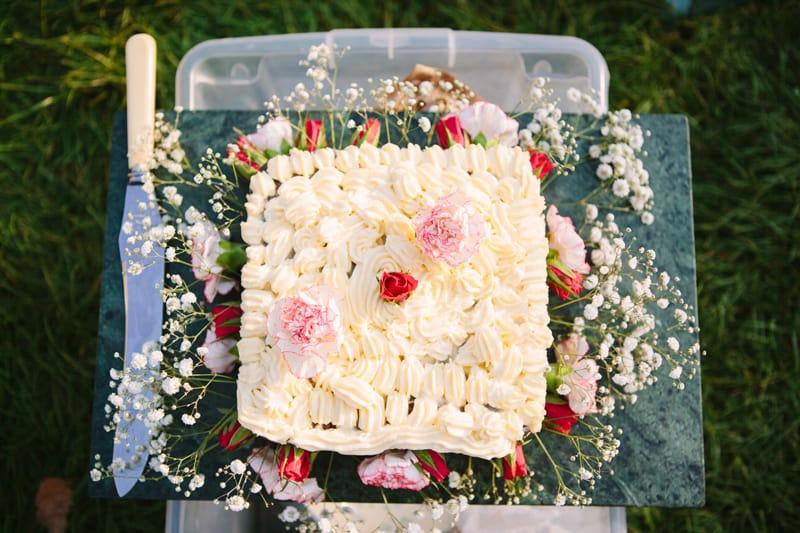 Stylish, Intimate Family Picnic Wedding (21)