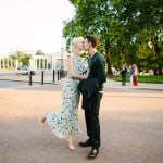Stylish, Intimate Family Picnic Wedding: Courtney & Cosmo