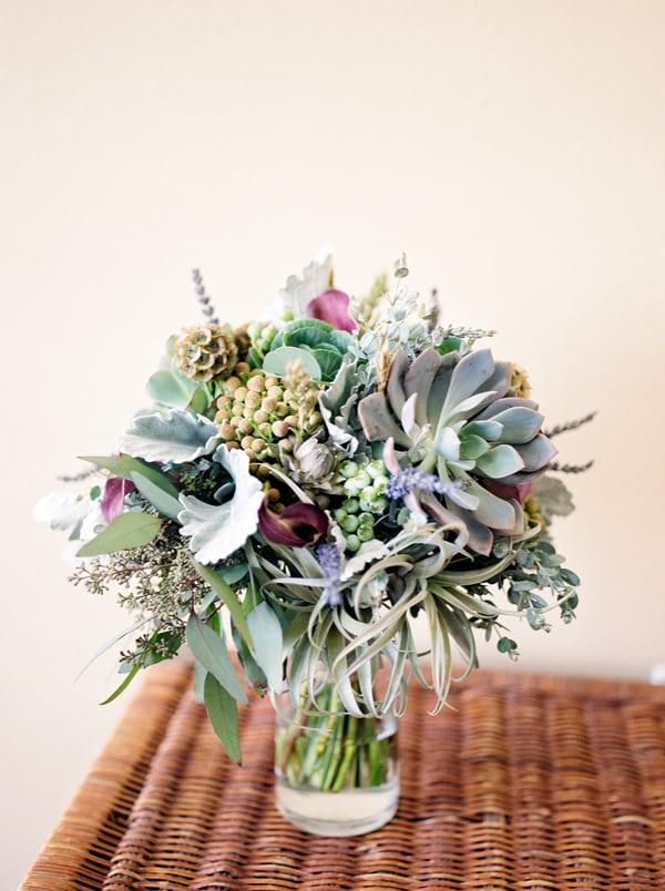 Succulent Laid Back Wedding 1