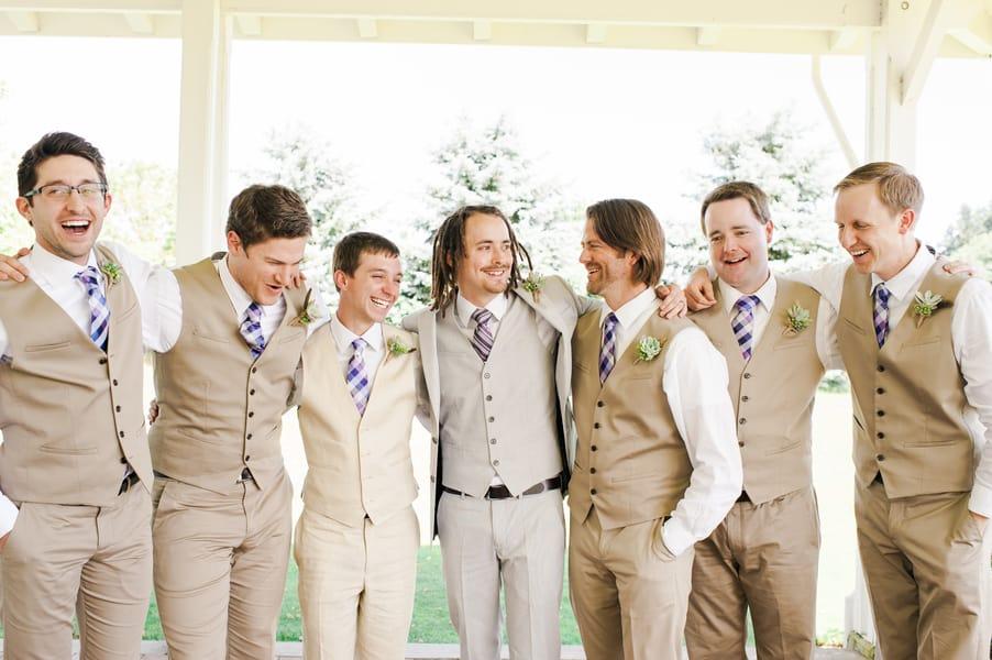 Succulent Laid Back Wedding 11