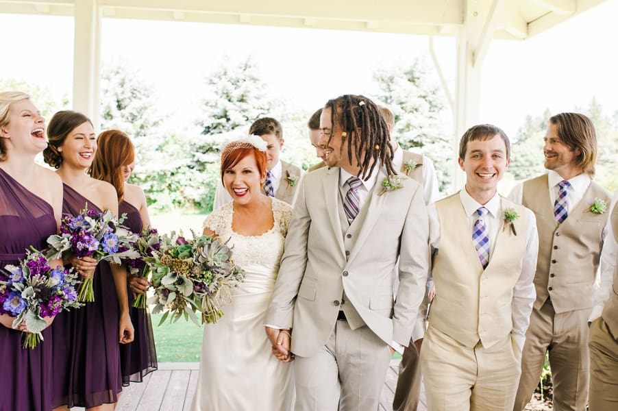 Succulent Laid Back Wedding 12