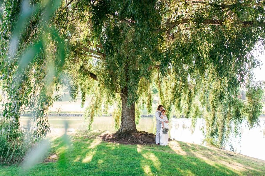 Succulent Laid Back Wedding 34