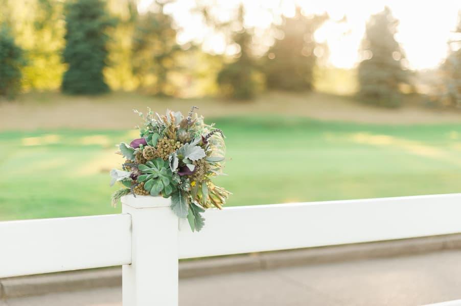Succulent Laid Back Wedding 39