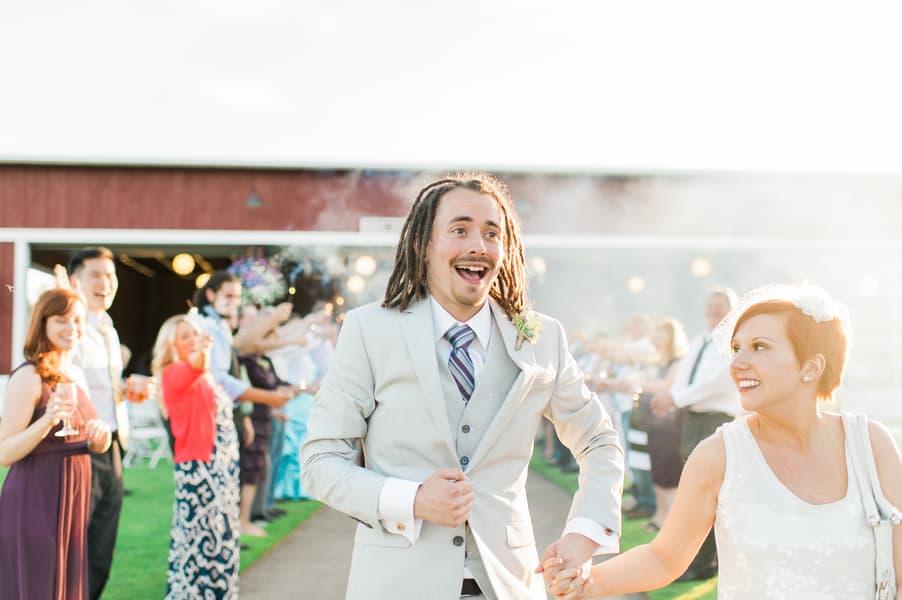 Succulent Laid Back Wedding 40