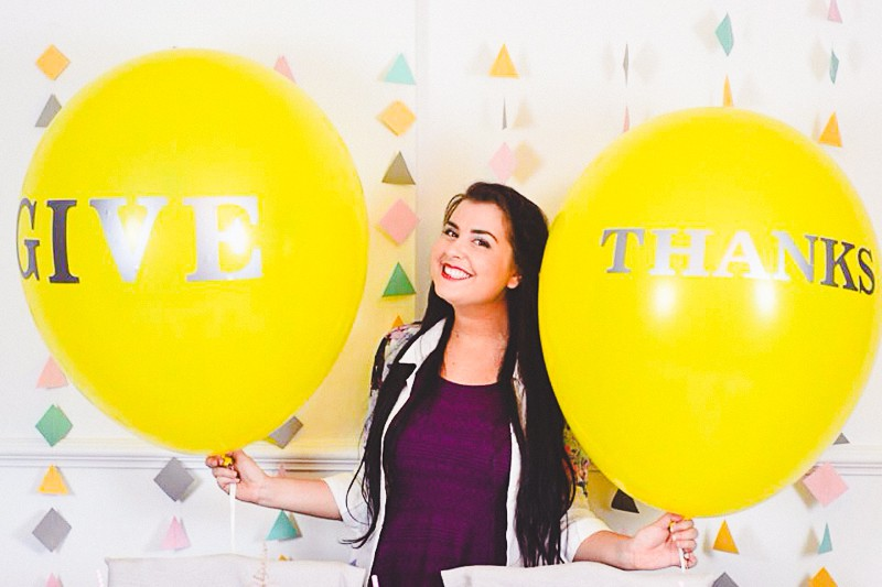 Thanksgiving Modern Geometric Decor Balloons