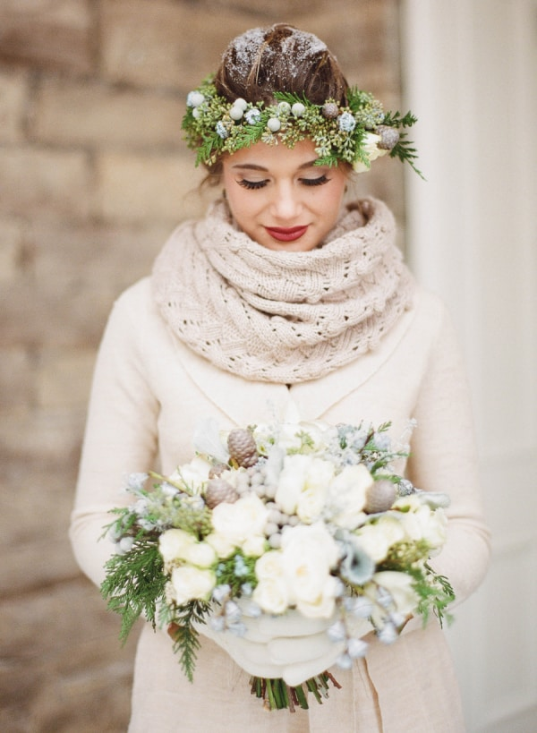 bf8b877ca Winter Christmas Wedding Inspiration and themes in the Snow ...
