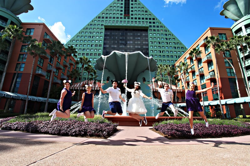 A Disney Wedding in Orlando Stephanie Dreams Blog (21)