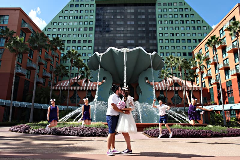 A Disney Wedding in Orlando Stephanie Dreams Blog (22)