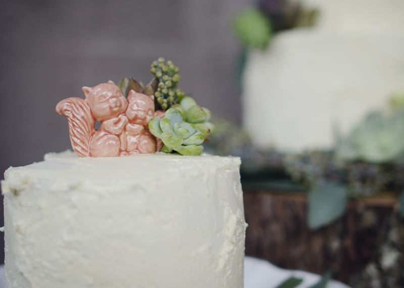 A Whimsical nature inspired wedding with woodland animals (23)