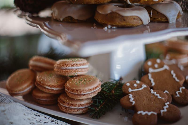 Christmas Bridal Brunch Log Cabin Hot Chocolate Festive Shoot 2-2