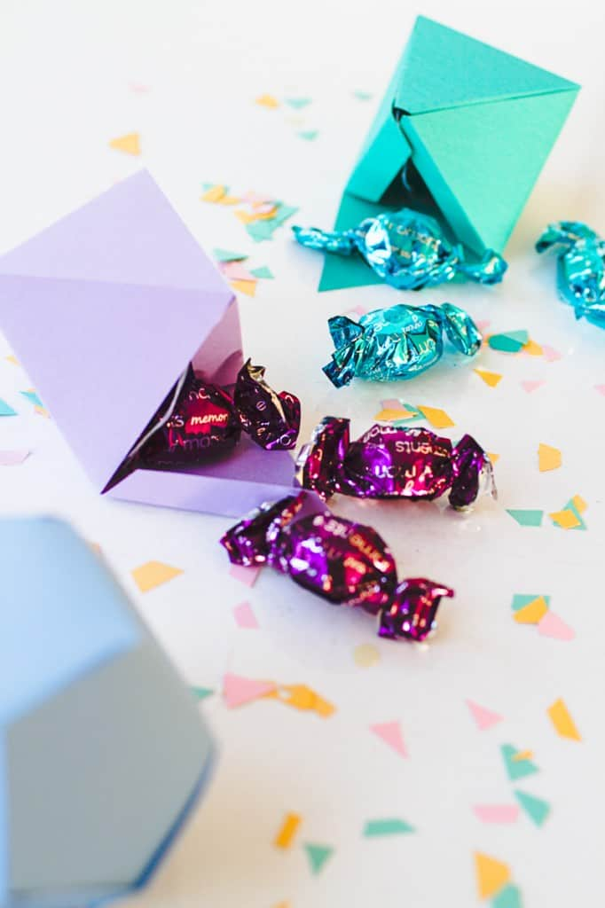 Diy Christmas Tree Decorations In Geometric Shapes With