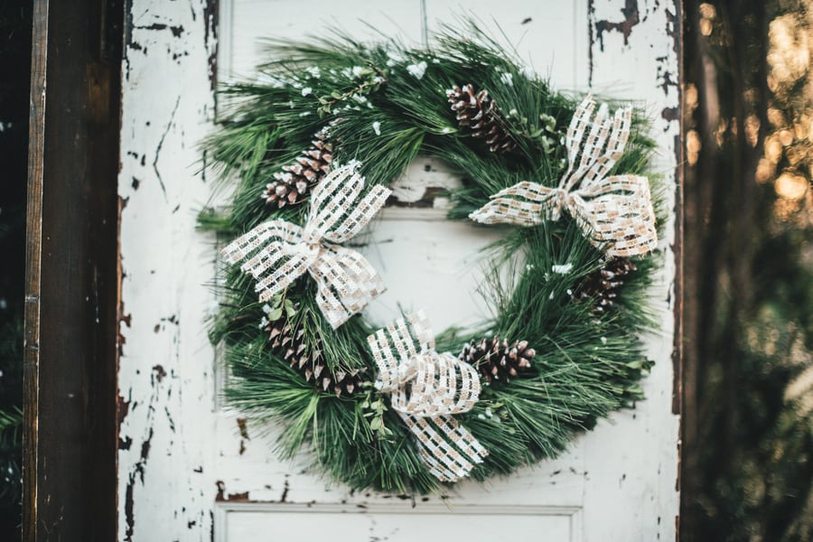 Festive Wedding Inspiration on a Christmas Tree Farm 26