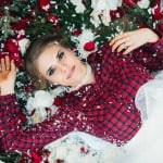 A Christmas Bride Upon a Bed Of Roses