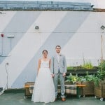 Glamorous Two Piece Gown For a Relaxed Camden Wedding: Alex & Dom