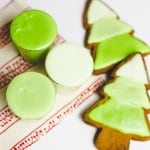DIY Ombre Christmas Tree Cookies