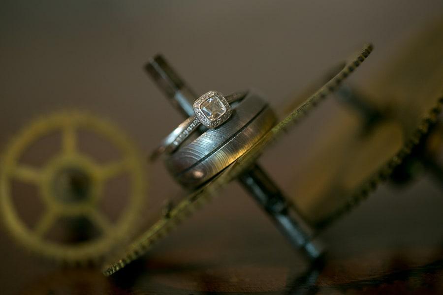 Steampunk Wedding Inspiration metals bride shoot 29