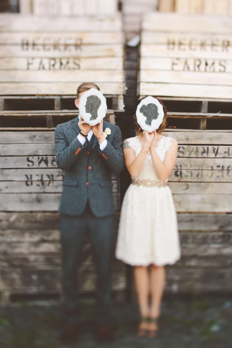 Intimate, Rustic DIY Wedding