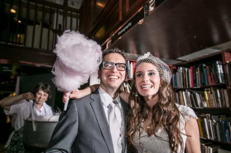 A Quirky Bookstore Wedding in NYC